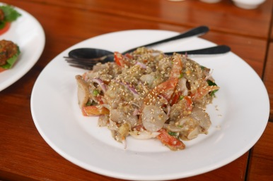 Eggplant salad from Sanon (Bagan)