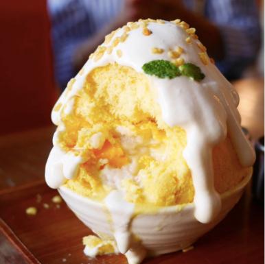 Mango Sticky Rice Kakigori