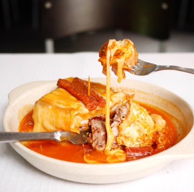 Francesinha from Bufete Fase (Porto)