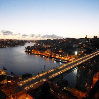 Sunset at Serra do Pilar (Porto)