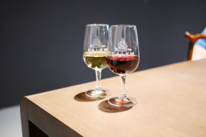 Port wine tasting at Calem (Porto)