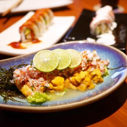 Matsuei - Erizos de Mar Ceviche
